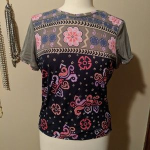 Tops - Floral top approximately size small